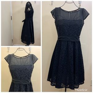 The Limited Lace Short Sleeve Dress Size 4